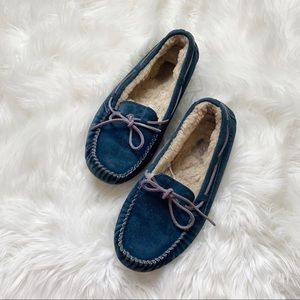 Ugg Blue Dakota Slipper Moccasin